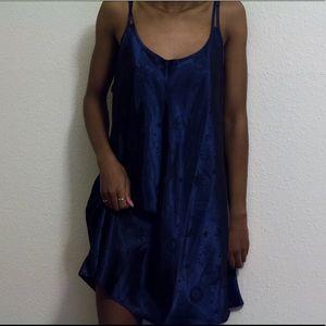 Dresses & Skirts - 🌈SOLD🌈  Navy cosmic print slip